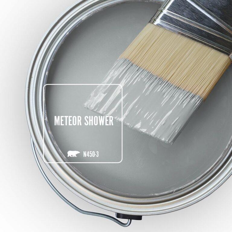 Behr Blue Gray Paint Colors - 'Meteor Shower' Image via Home Depot/Behr