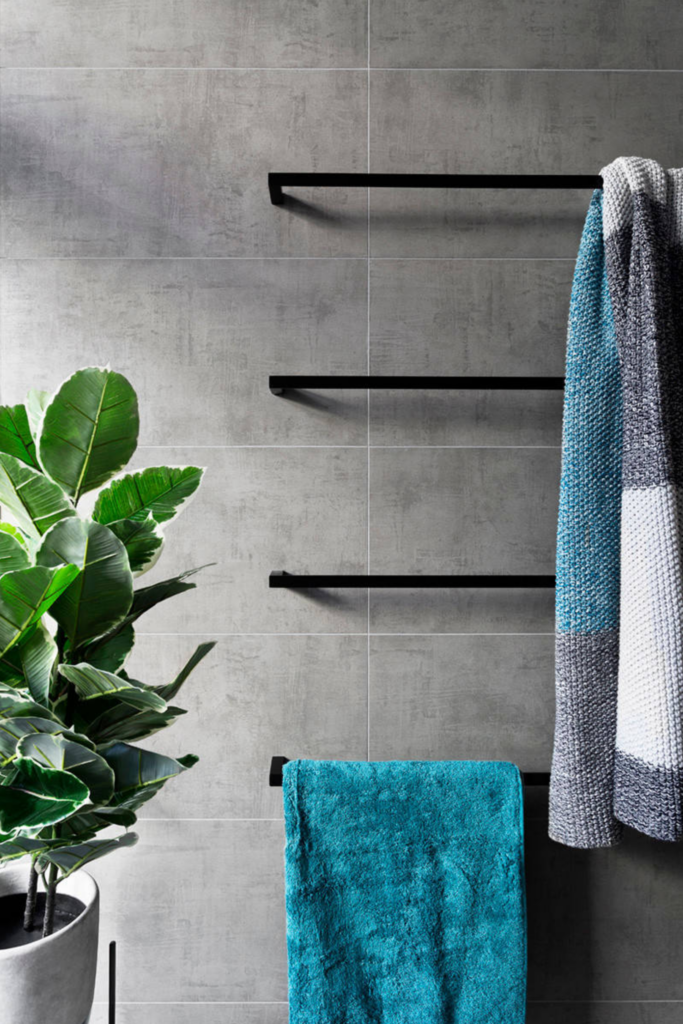 What Color Towels Work Best for Gray Bathrooms? Teal and turquoise - Image by GIA Bathrooms & Kitchens via Houzz