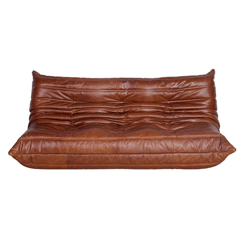 Ducaroy Quayside 3 Seater Sofa in Leather via Manhattan Home Design