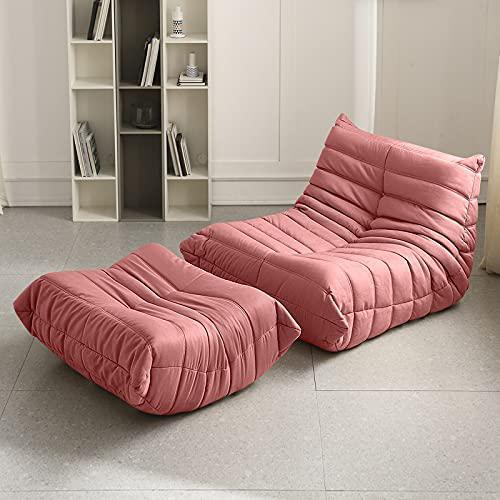 Simple Modern Home Furniture Togo Nordic Fabric Sofa via Amazon
