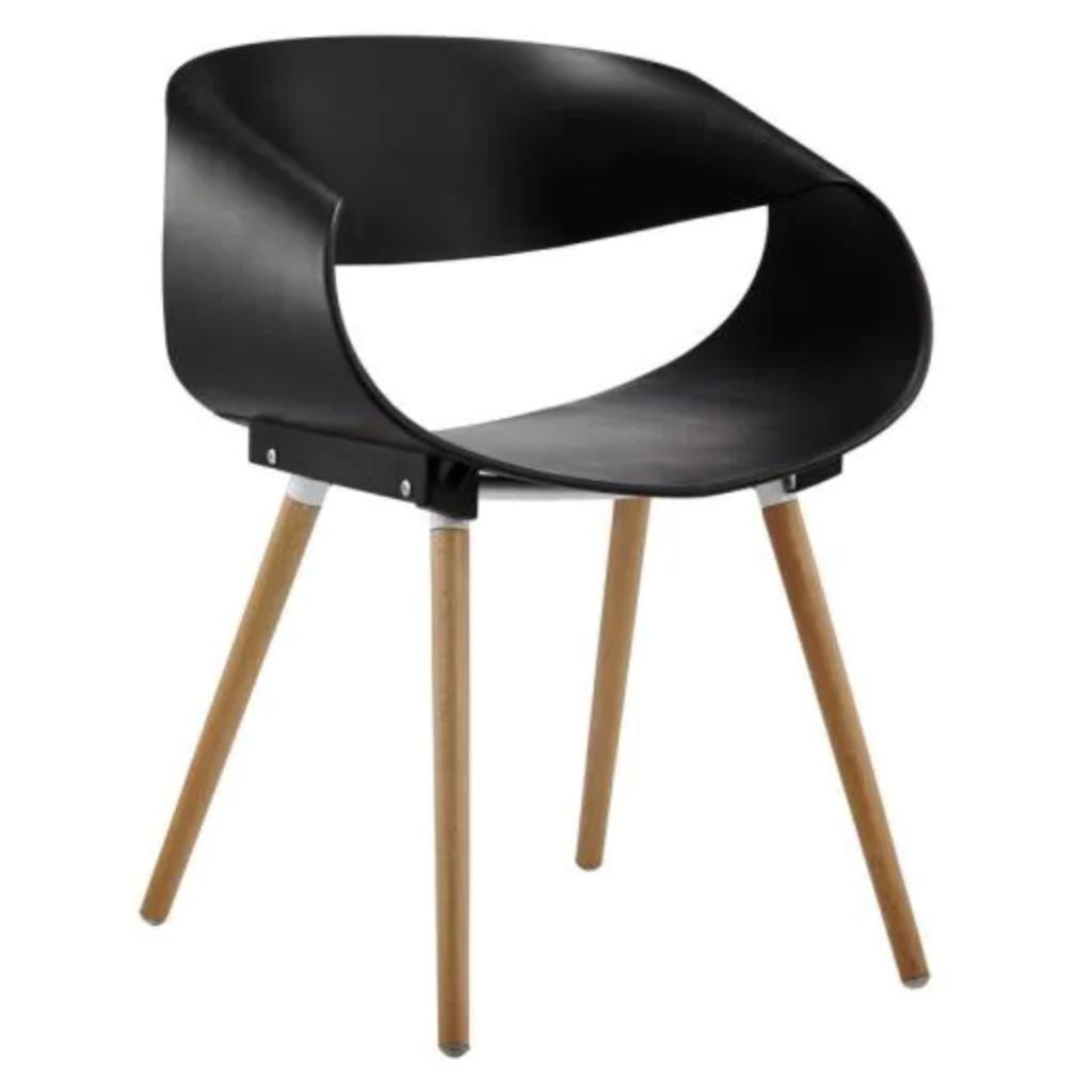 BEST MASTER FURNITURE 'Cornelia' Modern Side Chair via Home Depot