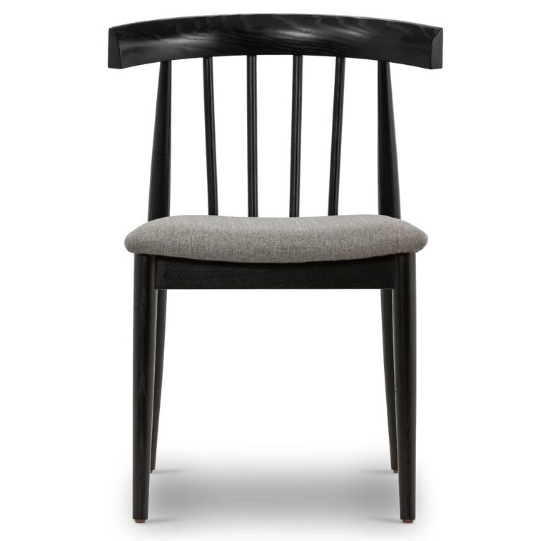 LAUREL FOUNDRY MODERN FARMHOUSE 'Lafontaine' Widsor Back Side Chair via Wayfair