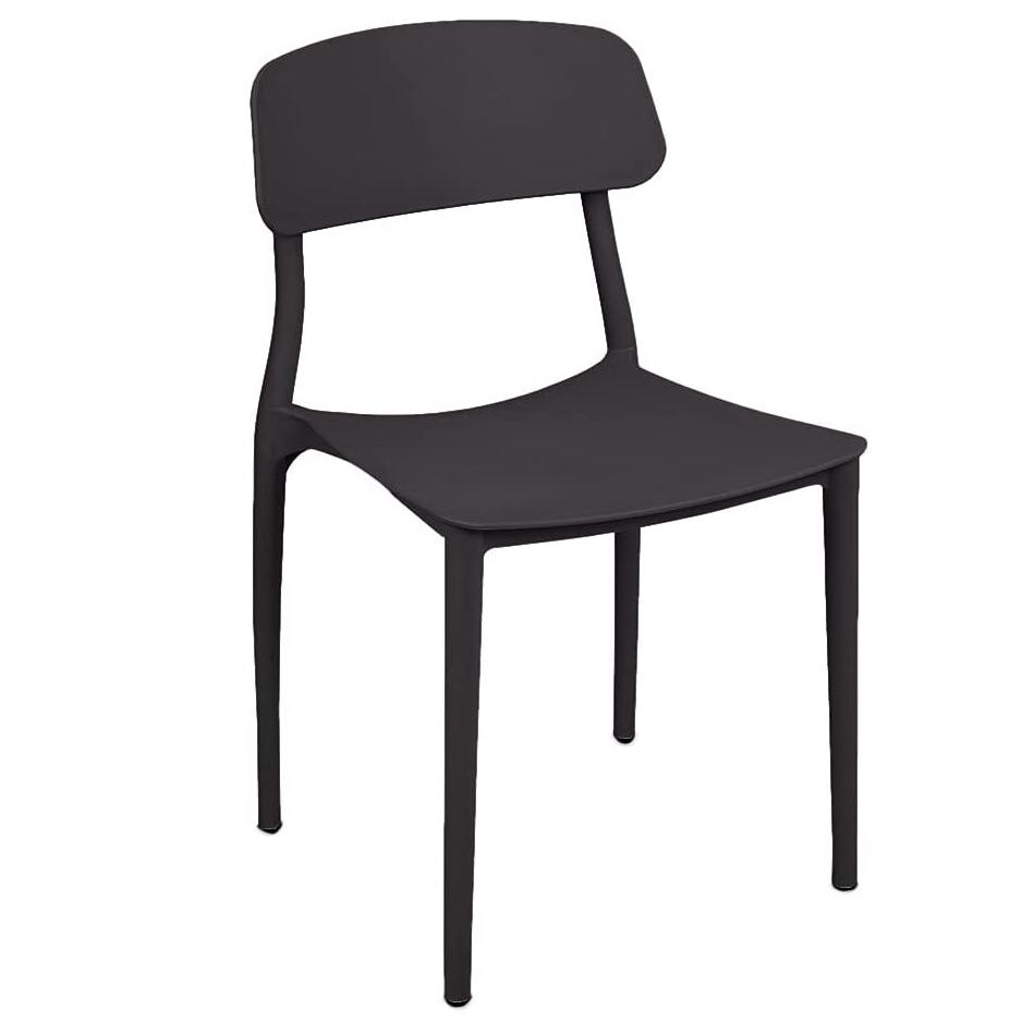 CANG LONG Slat Back PP Dining Chair via Amazon