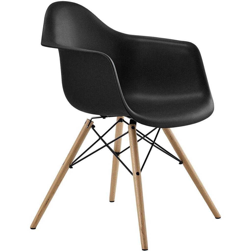 DHP C013701 Mid-Century Modern Chair via Amazon