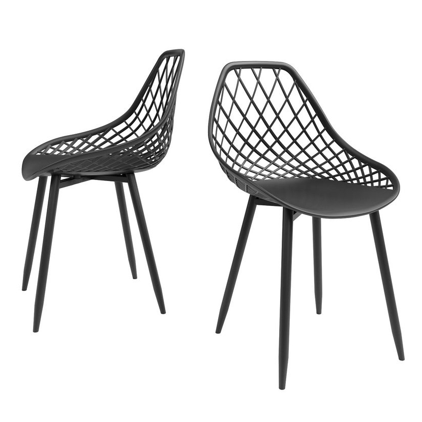 CARSON CARRINGTON 'Tackbyn' Mid-Century Dining Chair via Overstock