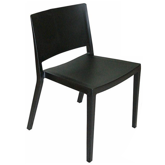 MOD MADE Plastic 'Elio' Dining Side Chair via Overstock