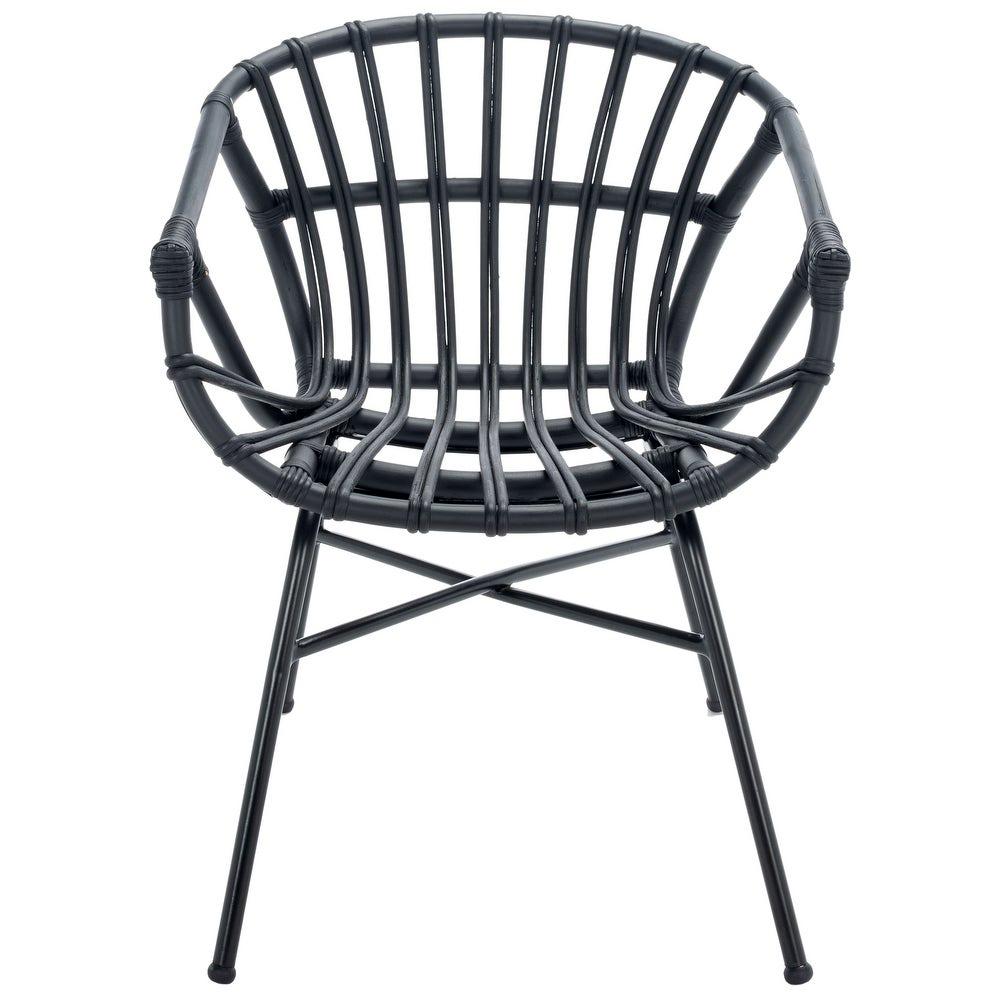 SAFAVIEH 'Avril' Rattan Dining Chair via Overstock