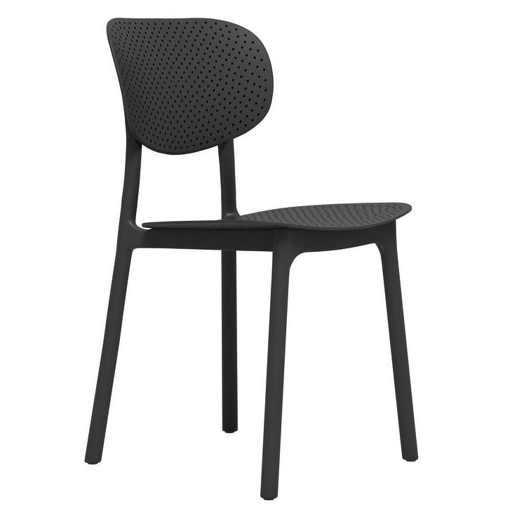 CARSON CARRINGTON 'Riccio' Modern Side Chair via Overstock