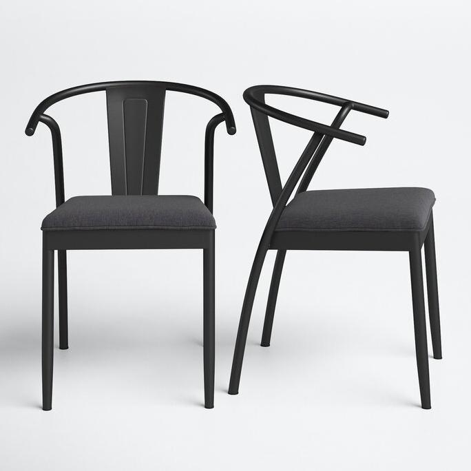 JOSS & MAIN 'Fitzmaurice' Slack Back Arm Chair via Wayfair