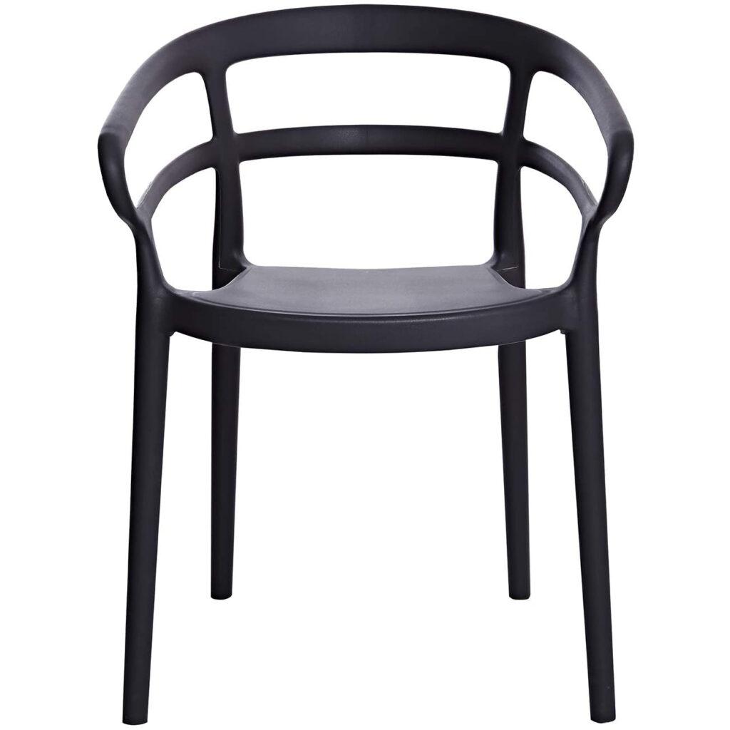 AMAZON BASICS Curved Back Dining Chair via Amazon