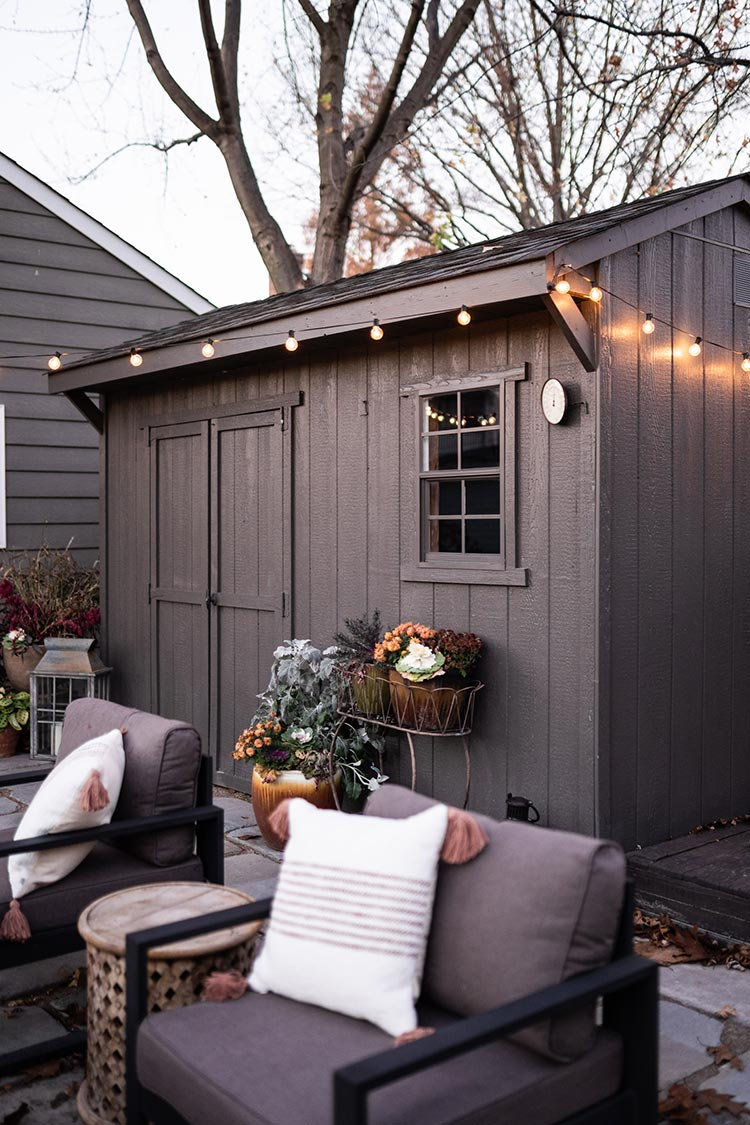 Beautiful Dark Gray Exterior Paint Colors in Action - Image via Sherwin Williams, feat. paint color: 'Urbane Bronze' by Sherwin Williams