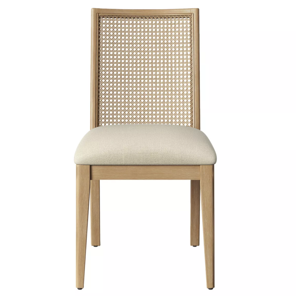 Opalhouse 'Corella' Cane and Wood Dining Chair via Target