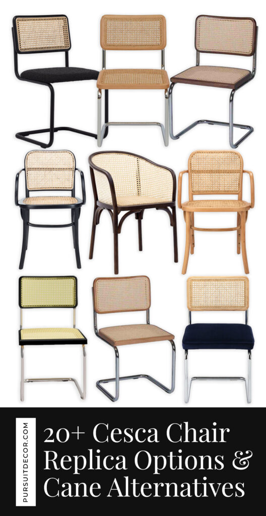 20+ Cesca Chair Replica Options And Stylish Cane Chair Alternatives