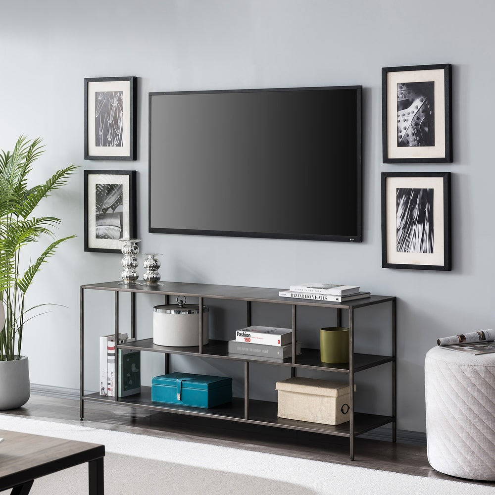 Winthrop 3-Shelf TV Consolevia Overstock