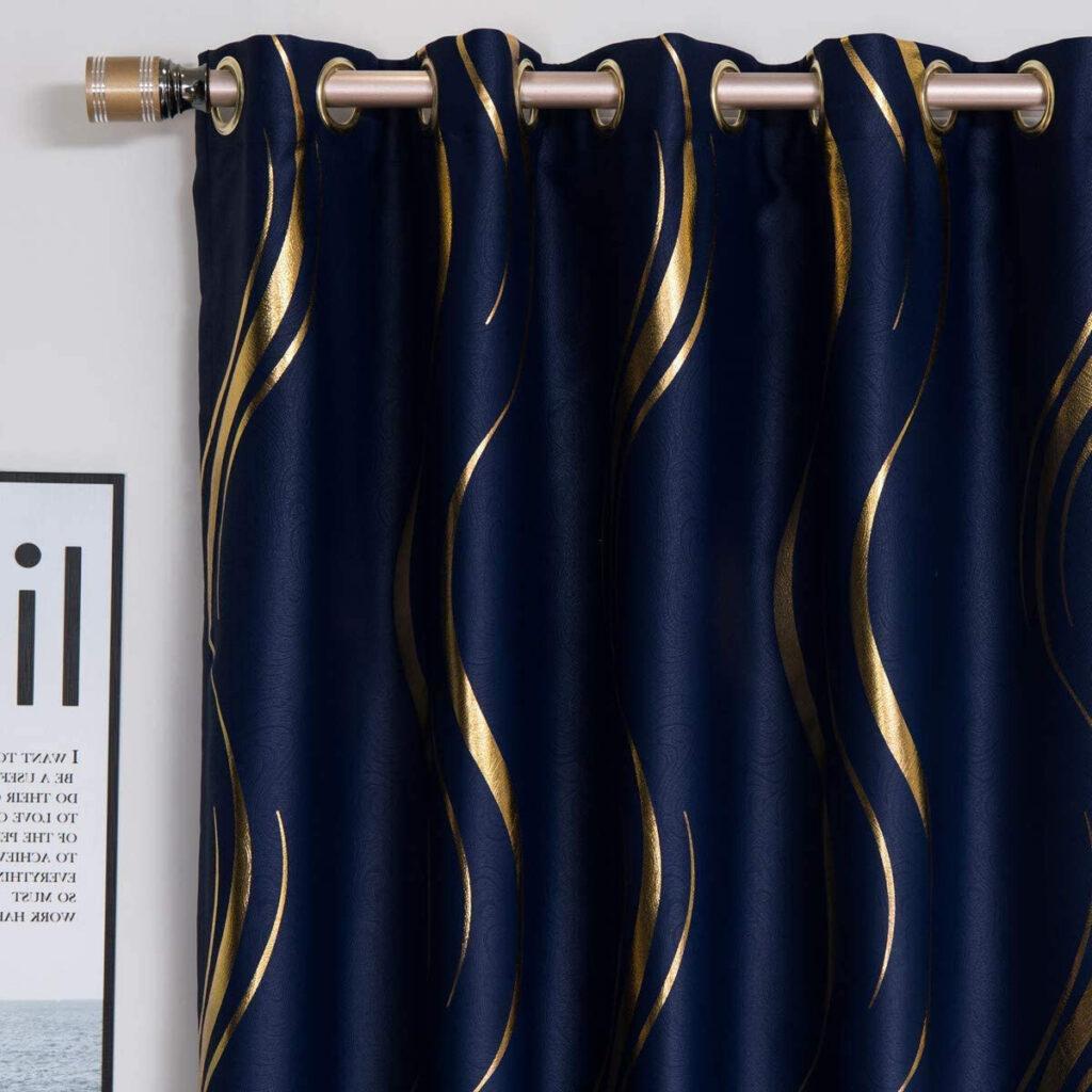 Curtains via Amazon