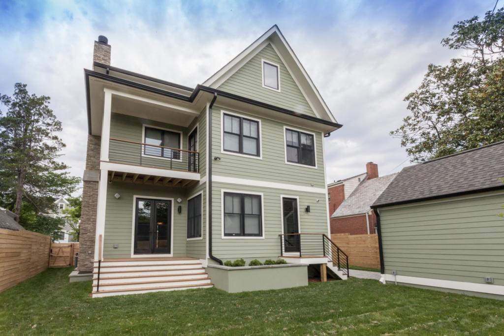 15+ Sage Green House Ideas with Black Trim - IMAGE: BCN Homes via Houzz